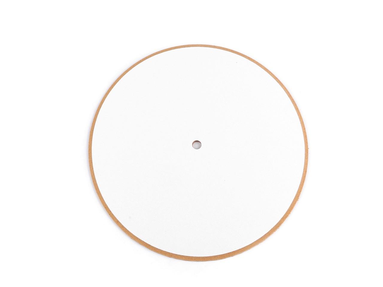 Hodinový ciferník polotovar Ø20 cm 1 ks