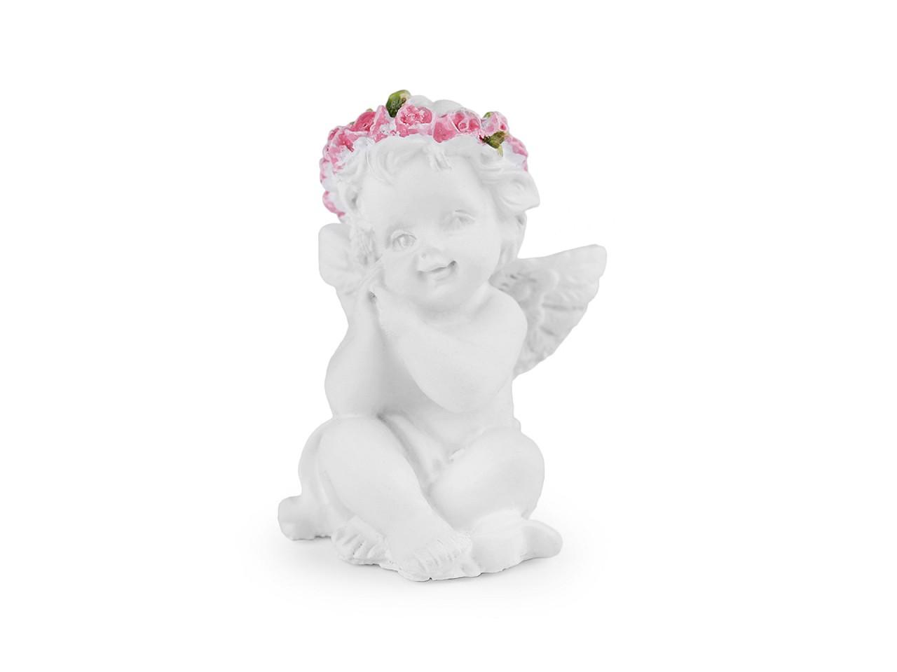 Anděl v dárkovém pytlíčku 1 ks