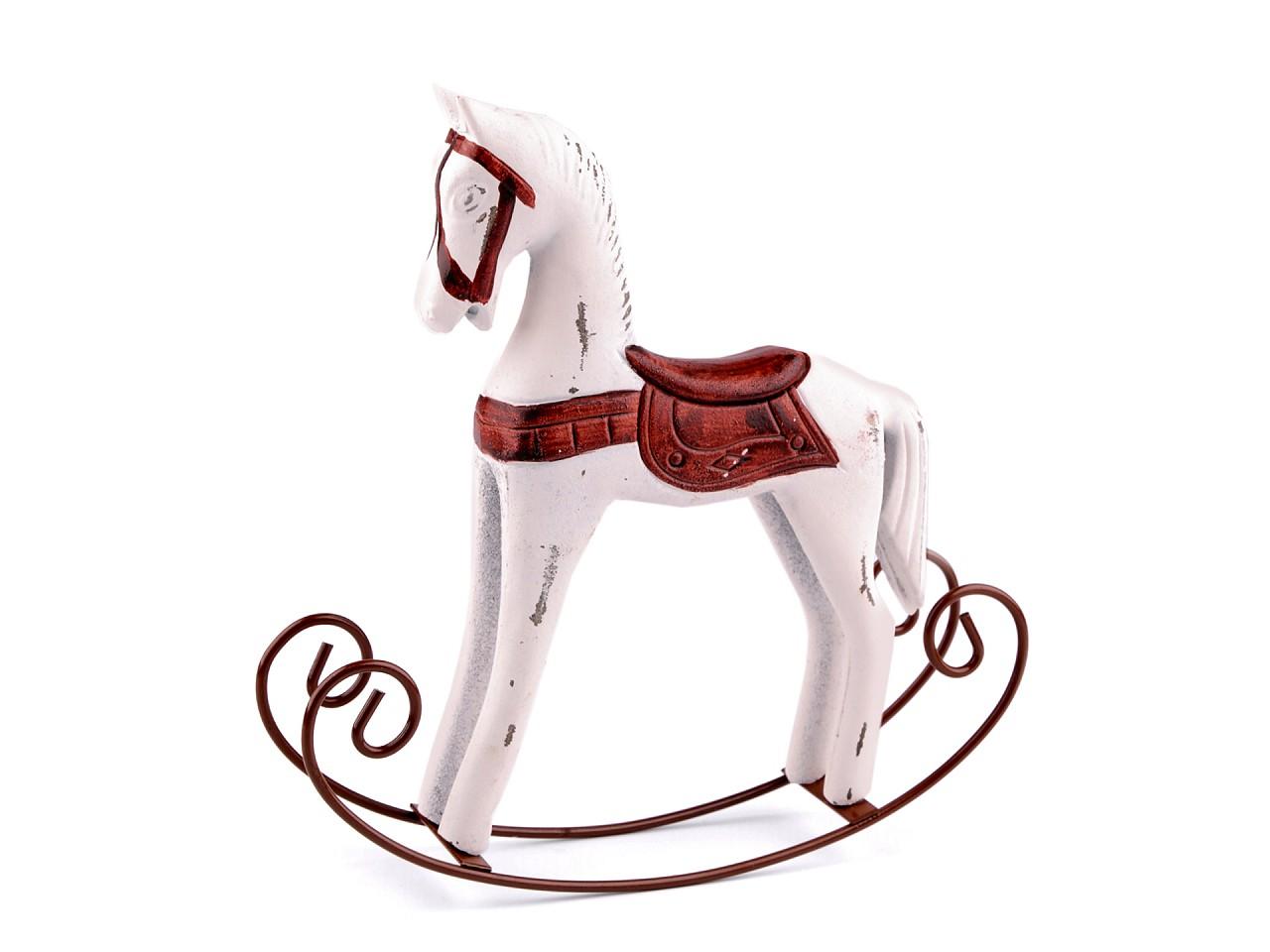 Dekorace houpací koník 1 ks