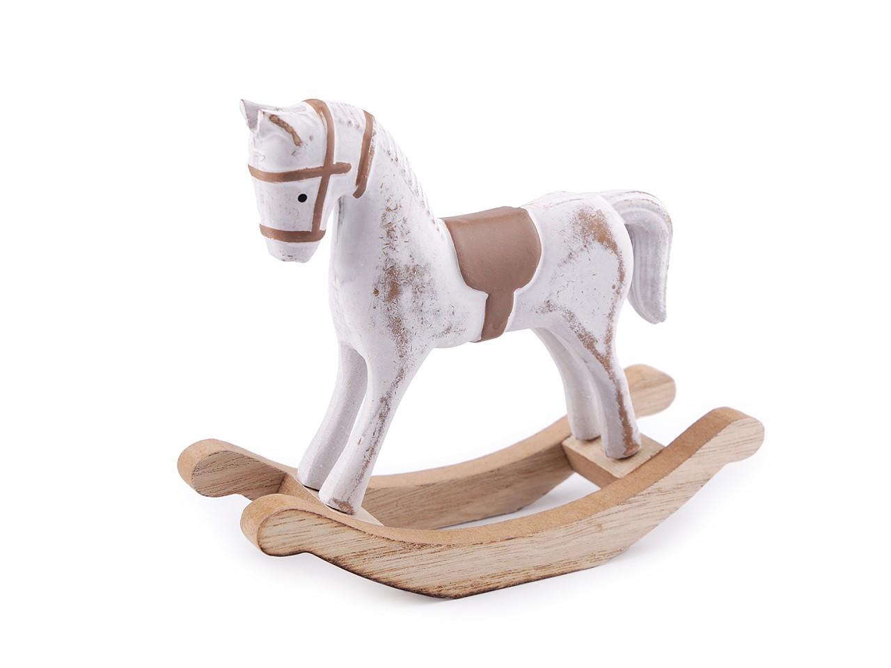 Dekorace houpací koník malý 1 ks