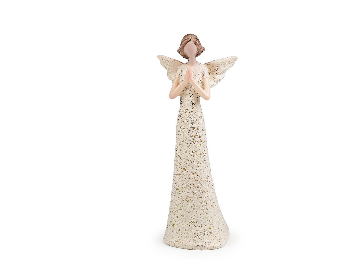 Dekorace anděl - malý 1 ks