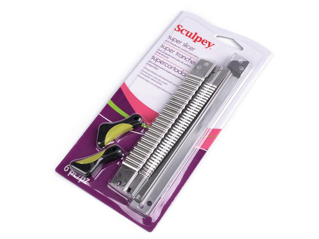 Sada nožů pro práci s polymerovou hmotou 1 ks