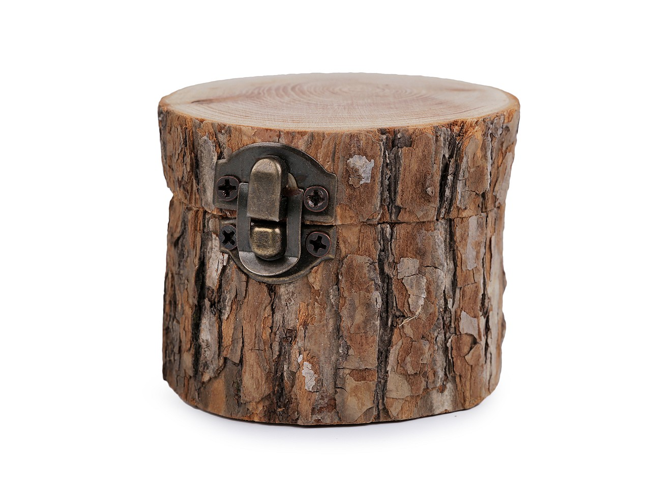 Dřevěná krabička 6,5x8 cm 1 ks