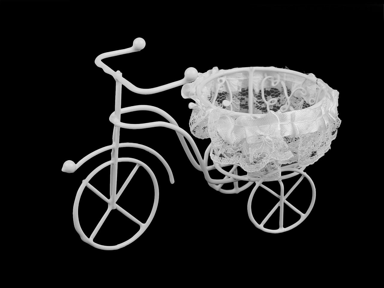 Dekorace kolo s košíkem 1 ks