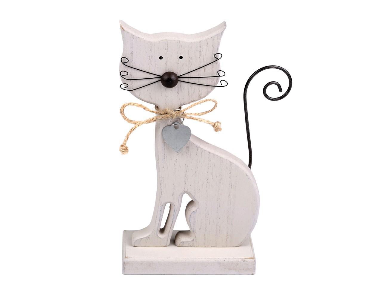 Dekorace kočka 1 ks