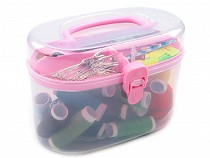 Sewing Kit in Box with Pin Cushion