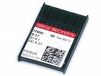 Maschinennadeln Groz - Beckert B27 80; 90 für Overlocks / für Industrienähmaschinen