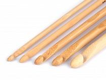 Bambusový háčik na hačkovanie veľ. 5; 6; 7; 8; 10