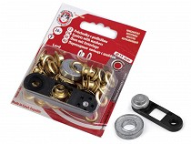 Eyelets with Washers Ø7 mm Non-rust