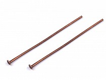 Flat Head Pin jewelry findings 40 mm