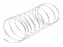Silver Plated Bracelet Memory Wire Ø5 cm 2nd Quality
