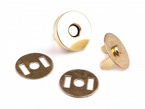 Magnetic Snap Closures Ø18 mm gold