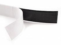 Taśma rzep samoprzylepna, czarna szer.20 mm haczyk