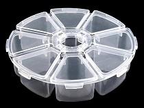 Plastový box / zásobník Ø10 cm