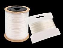 Silikónová guma / lastin šírka 4 mm elastická