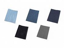 Łaty do naprasowania - rozmiar 20x43 cm jeans