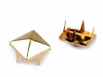 Clothing Pyramid Spikes 12x12mm