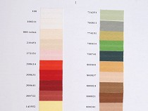Cotton Bias Binding width 14+20+30mm Colour Card