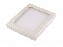 Krabička s průhledem polstrovaná 3x16x19 cm