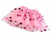 Children´s carnival skirt - reversible with sequins
