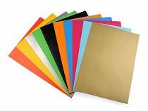 Papier farebný samolepiaci 21x29 cm