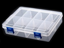 Sortierbox / Behälter aus Kunststoff 13,5x20x4,6 cm