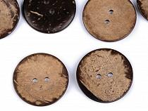 """Knoflík kokos oboustranný velikost 60"""""""