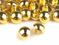 """Gombík na kroje veľkosť 24"""" zlatý"""