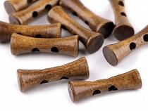 Guzik drewniany 35mm