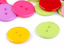 """Knoflík barevný mix velikost 36"""""""
