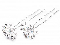 Rhinestone Studded Hair Pin length Ø20 mm