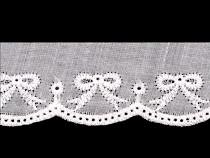 Bavlněná madeira - štykování šíře 35 mm