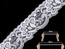 Elastic Lace width 35 mm
