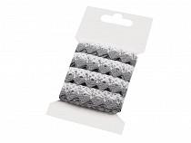 Klöppelspitze aus Baumwolle Breite 15 mm  Packung 3 m