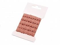 Koronka bawełniana szerokość 12 mm klockowa