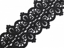 Embroidered Lace Trim width 82 mm
