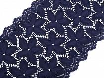 Elastická krajka / vsadka / běhoun šíře 16,5 cm