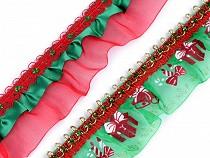 Weihnachtsrüsche Breite 48 mm
