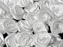 Decorative Satin Rose Ø13-15 mm