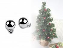 Vánoční přívěsek mini baňka Ø10 mm
