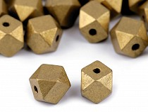 Diamond-Shaped Beads metallic