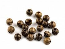 Dřevěné korálky Ø6 mm