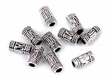 Oval Metal Beads 5x10 mm