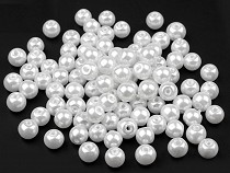 Round Glass Pearl Imitation Beads Ø6 mm