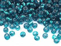 Üveg kásagyöngyök 6/0 - 4 mm-es áthúzóval