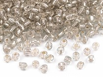 """Glass Seed Beads """"Rocaille"""" 6/0 with pulling hole 4mm"""
