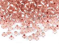 """Glass Seed Beads """"Rocaille"""" with pulling hole 3mm"""