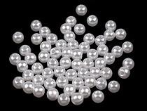 Plastikowe koraliki woskowane / perły Glance Ø6 mm