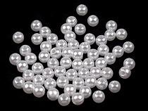 Plastikowe koraliki woskowane / perły Glance Ø5 mm