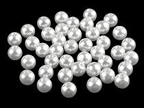 Műanyag teklagyöngyök / Glance gyöngyök Ø8 mm